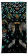 The Maddening Crowd Beach Towel