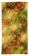 The Madness Of Christmas Beach Towel