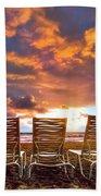 The Main Event Beach Towel