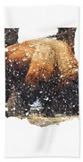 The Majestic Bison Beach Towel