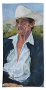 The Man From The Valley Beach Towel