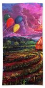 The Man In The Tent Beach Towel