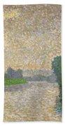 The Marne At Dawn Beach Towel