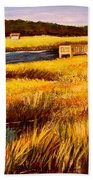 The Marsh At Cherry Grove Myrtle Beach South Carolina Beach Towel