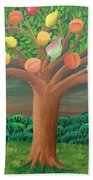 The Marzipan Tree Beach Towel