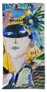 The Mask Party Beach Towel