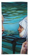 The Masqueradeum Beach Towel