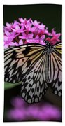 The Master Calls A Butterfly Beach Towel by Cindy Lark Hartman