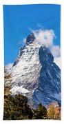 The Matterhorn Mountain Beach Towel