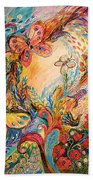 The Melancholy For Chagall Beach Towel