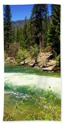 The Merced River In Yosemite Beach Towel