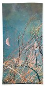 The Messy House Of The Moon Beach Towel