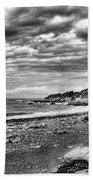 The Mewstone, Wembury Bay, Devon #view Beach Towel
