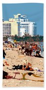 The Miami Beach Beach Towel