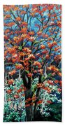 The Mighty Immortelle Beach Towel by Karin  Dawn Kelshall- Best