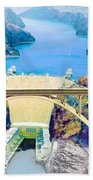 The Mike O'callaghan Pat Tillman Memorial Bridge Beach Towel