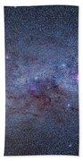 The Milky Way Through Carina And Crux Beach Towel