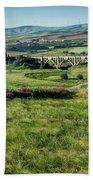 The Milwaukee Road Railroad Viaduct Near Rosalia Wa Dsc05095 Beach Sheet