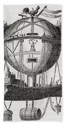 The Minerva Balloon Designed By  Tienne Beach Towel