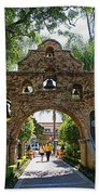 The Mission Inn Entrance Beach Towel