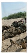 The Monuments Men Beach Towel