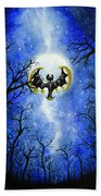the moon of Lunala Beach Towel