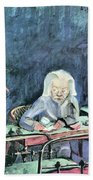 The Mother Of Sonia Gramatte By Walter Gramatte Beach Towel