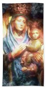 The Mother Of The King Is Queen Beach Towel