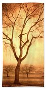 The Mother Tree Beach Towel