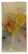 The Mourning Of Persephone - Fractal Art Beach Towel