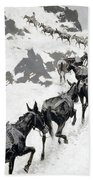 The Mule Pack Beach Towel