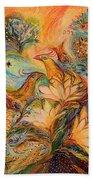 The Mystery Of Orange Tree Beach Towel