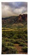 The Mystical Beauty Of The Superstitions  Beach Towel