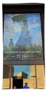 The National Gallery Of Art Is 75 Years Old Beach Towel
