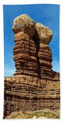 The Navajo Twin Rocks Beach Towel