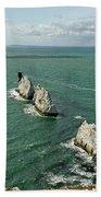 The Needles - Isle Of Wight Beach Towel