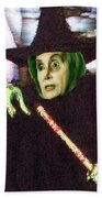 The New Wicked Witch Of The West Beach Towel