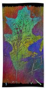 The Oak Leaf Beach Towel