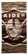 The Oakland Raiders 1f Beach Towel