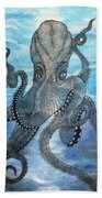 The Octopus 3 Beach Towel