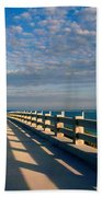 The Old Bridge Beach Towel