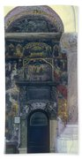 The Old Church - Biserica Veche  Beach Towel