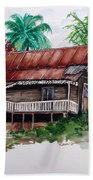 The Old Cocoa House  Beach Towel