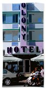 The Old Colony Hotel Beach Towel