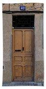 The Old Door. Beach Towel