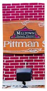 The Old Pittman Store Sign Beach Towel