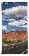 The Open Road - Utah Beach Towel