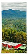 The Orchard At Altapass Beach Towel