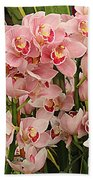 The Orchid Garden Beach Towel