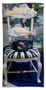 The Original Fish Chair  Beach Towel